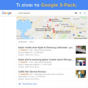 Τι είναι το Google 3 – Pack;