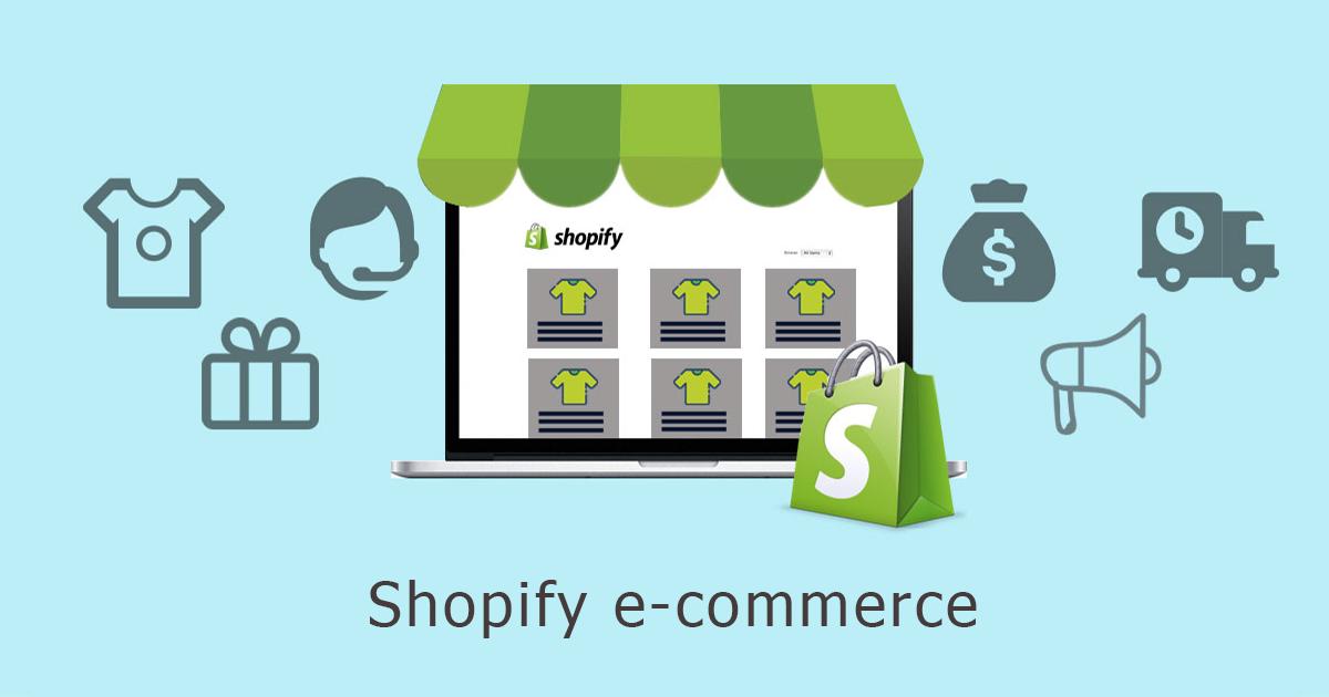 κατασκευή e-shop Shopify